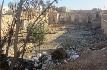 تخریب اماکن مخروبه محل تجمع معتادین