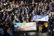 حضور پر شور مردم استان کرمان در گرامیداشت قیام نهم دی+ تصاویر