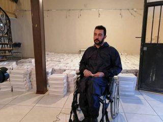 فرمایشات رهبری همواره کارگشا است/ توزیع کمک های مومنانه معلولان به نیازمندان این قشر