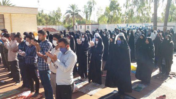 برگزاری نماز عید فطر در استان کرمان+ تصاویر