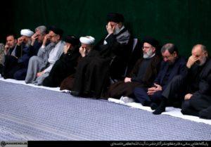 تصاویر/اولین شب مراسم عزاداری در حسینیه امام خمینی